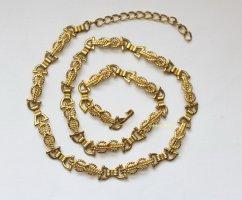 Vintage Cinturón de cadera color oro