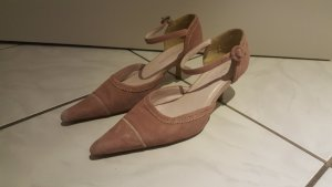 "Sally O Hara Riemchen Pumps "" rosa "" Gr 39 "" TOP !!!"