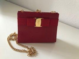 Salvatore Ferragamo kleine Abendtasche Vintage - rot