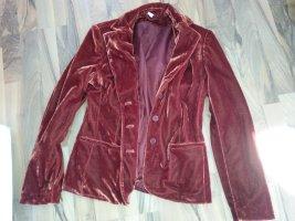Samt Blazer Retro Vintage S 36
