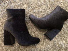 Samt Boots Gr. 36