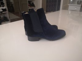 Slouch Booties dark blue