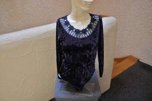 Shirt Body dark blue polyester
