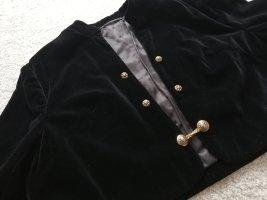 Original Vintage Traditional Jacket black-gold-colored