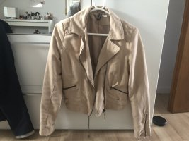 H&M Flight Jacket cream-beige