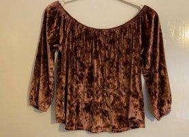 Hollister Short Sleeve Sweater lilac-purple