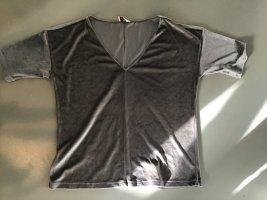 Samtshirt Oberteil Shirt 38/40