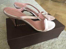 Bally Hoge hakken sandalen lichtroze-rosé