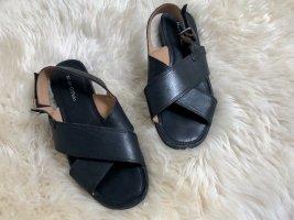 Sandale von Marcó Polo, Gr. 39, Schwarz