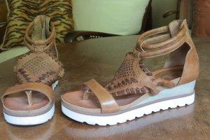 Sandale von Mjus Leder (wie neu)