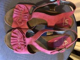 Via Milano Sandalias de tiras rosa