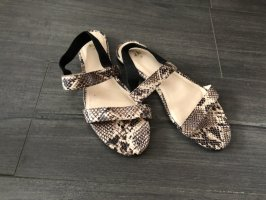 H&M Strapped Sandals grey brown
