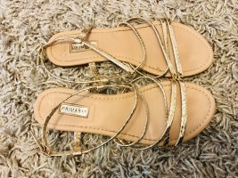 Primark Romeinse sandalen goud