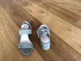 H&M Strapped Sandals sage green
