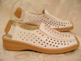 Comfort Sandals white-brown