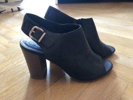 5th Avenue Platform Sandals black