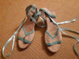 PicNic Sandalo comodo crema-turchese