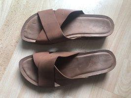 Graceland Comfort Sandals brown