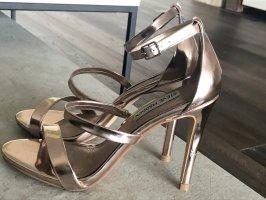 Steve Madden Strapped Sandals gold-colored