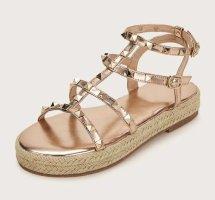 Roman Sandals rose-gold-coloured-bronze-colored
