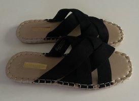 Primark Beach Sandals black