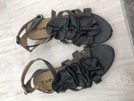 Sandalias Dianette gris-gris oscuro