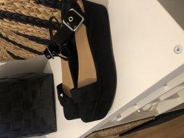 Asos Platform High-Heeled Sandal black