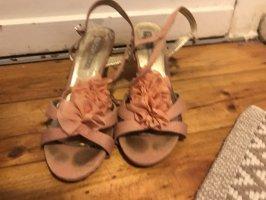 Buffalo London Sandalo con cinturino rosa antico