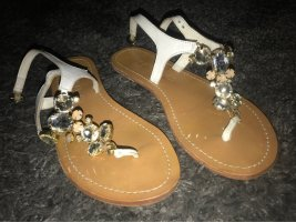 esprit collection Sandalo toe-post multicolore Pelle