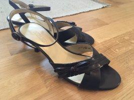 Ariane Sandalen met bandjes donkerbruin-zwart bruin