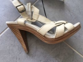 H&M Plateauzool sandalen room-bruin