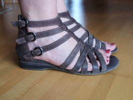 Bama Roman Sandals dark brown leather