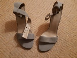 Sandalo con cinturino marrone-grigio