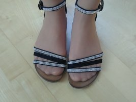 Roman Sandals black-light grey leather