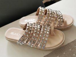 Jumex Sandalo comodo rosa antico