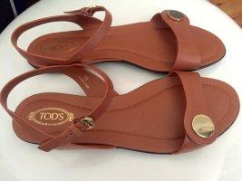 Tods Outdoor sandalen lichtbruin Leer