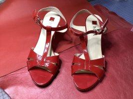 Högl Sandalo con cinturino rosso mattone