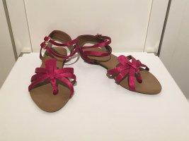 Sandalen in pink von ZARA in Größe 38