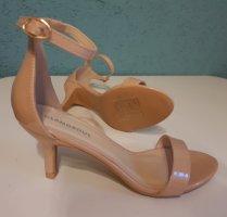 Glamorous Sandały na obcasie różany