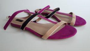 Sandalen mit Fesselriemchen Gr.37