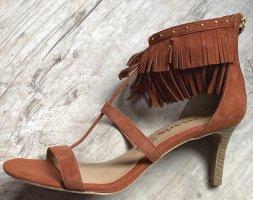 Tamaris Dianette Sandals russet leather