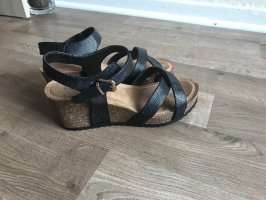 Sandalen mit Keilabsatz Gr. 39