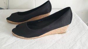 Sandalen mit Keilabsatz Schuhe Gr 38