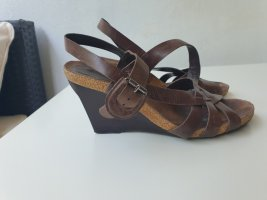 Sandalen mit Keilabsatz von Clarks, Gr.39