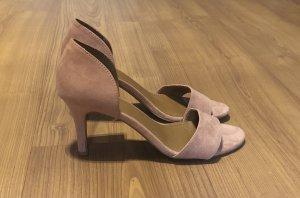 Sandalen mit kleinen Absatz
