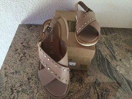 Sandalen mit Nieten Neu