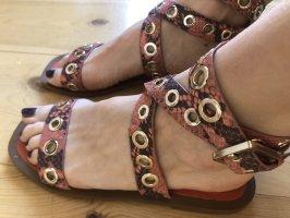 Zara Woman Sandalo romano multicolore