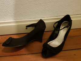 Sandalen schwarz Gr.41 schick, rockabilly