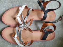 s.Oliver Toe-Post sandals multicolored leather