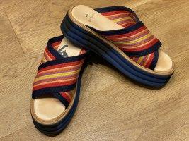 Paul Smith Sandalo con plateau multicolore